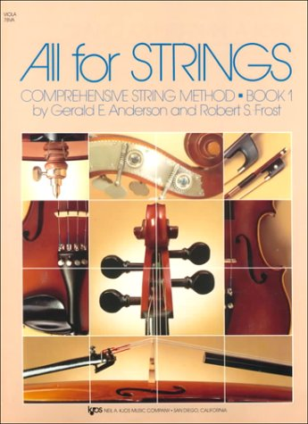 All for Strings: Comprehensive String Method Viola Book 1
