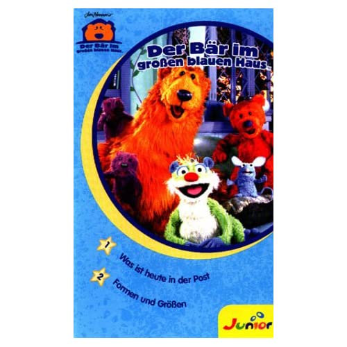 Bear In The Big Blue House [VHS] On PopScreen