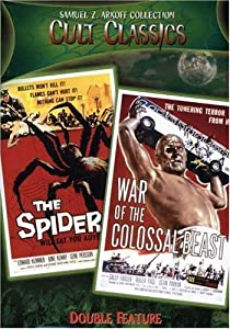 Earth Vs. The Spider/War of the Colossal Beast (Cult Classics Double Feature)