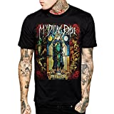 My Dying Bride Feel The Misery Men Black Cotton T Shirt (Large)