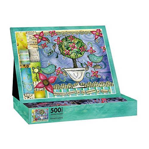 Lang Happiness Blooms by Lisa Kaus Jigsaw Puzzle (500-Piece)