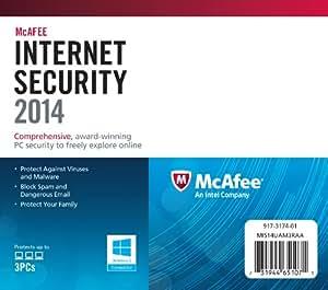 McAfee Internet Security 2014 - 3 User (PC)