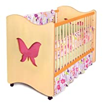Hot Sale Room Magic 4 Piece Crib Set, Magic Garden