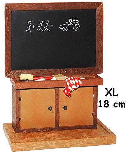 Gro e 3 d figur schultafel kreidetafel miniatur for Schaufenster dekorieren lernen