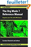 The Org Mode 7 Reference Manual - Org...