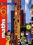 Nadine Jacob Maths 6e Nouveau prisme : Programme 2009, petit format (1Cédérom)