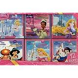 Coffret Princesses : 6 histoires et 6 coloriages