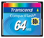 Transcend Carte Compact Flash CF Card...