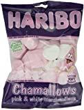 Haribo Chamallows Pink and White Marshmallows 150 g (Pack of 12)
