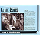 Eubie Blake, Stars of the Harlem Renaissance, Poster