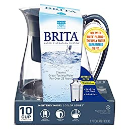 Brita Monterey Water Filtration System, Charcol (plus 2 filters)