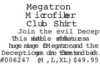Transformers - Megatron Club Shirt Medium Multicoloured