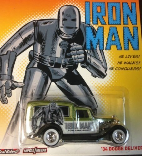 Hot Wheels Marvel Iron Man '34 Dodge Delivery