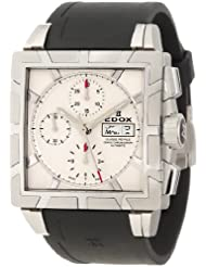 Edox Men's 01108 3PB AIN Classe Royale Automatic Chronograph Watch