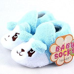 Froomer Zapatos de Bebé Forma de Animal Muti-Patrón Suave con Suele Zapato Infantil Preandador Primeros Pasos Tamaño Único