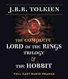 J. R. R. Tolkien The Complete Lord of the Rings Trilogy & the Hobbit