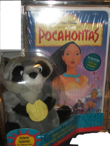 Walt Disney's Pocahontas Video Gift Set with Exclusive Meeko Stuffed AnimalWalt Disney's Pocahontas Video Gift Set with Exclusive Meeko Stuffed Animal