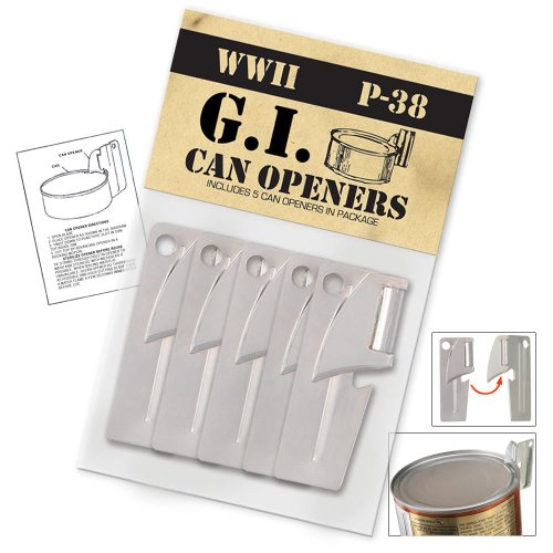 P38 GI Type Can Opener (5 PACK) (Gi Can Opener compare prices)