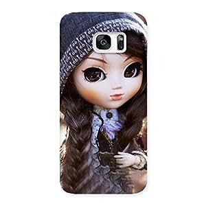 Impressive Cute Beautiful Doll Back Case Cover for Galaxy S7 Edge