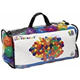 """Intex """"Phthalate Free"""" EP Version Fun Ballz Pit 100 Ball Pack with carry bag"""
