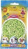 Hama Perlen 207-47 - Perlenbeutel 1000 Stück pastell-grün hergestellt von DAN Import