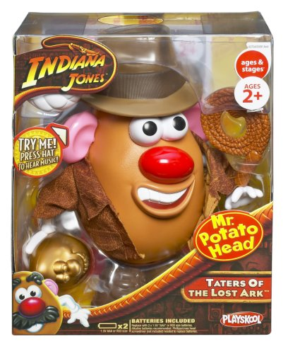 Indiana Jones Mr. Potato Head