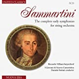 Sammartini: Complete Early Symphonies For String Orchestra