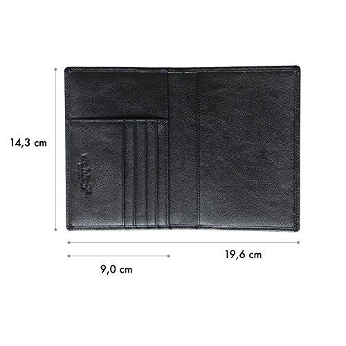 porte passeport organiseur de voyage pour homme femme et enfant par walden etui en cuir. Black Bedroom Furniture Sets. Home Design Ideas