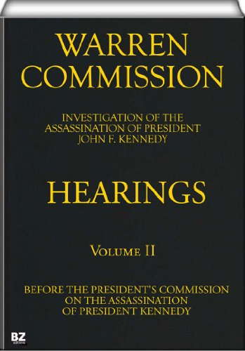 the warren commission a look into the assassination of president john f kennedy