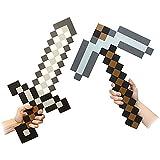 Minecraft Foam Sword & Pickaxe Combo Set Of 2