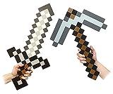 Minecraft Foam Sword & Pickaxe Combo Set Of 2 (accesorio de disfraz)