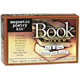 Magnetic Poetry - Book Lover Kit - Words for Refrigerator - Write Poems and Letters on the Fridge