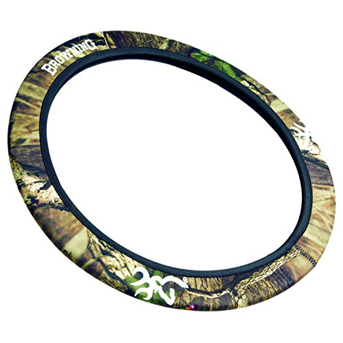 Browning Mossy Oak Infinity Camo Neoprene Steering Wheel Cover For Car, Truck, or SUV (Sold Individually) (Steering Wheel Chevy Truck compare prices)