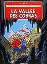 Les aventures de Jo, Zette et Jocko - La vallée des cobras par Hergé