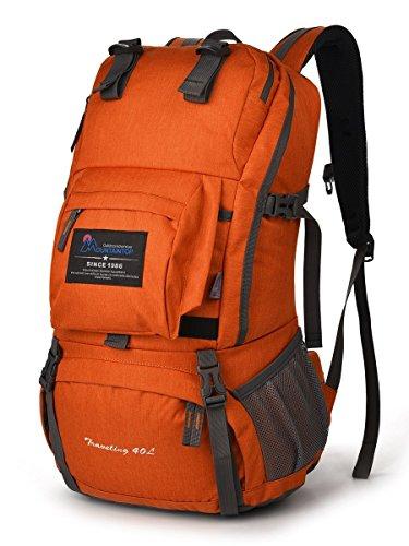 マウンテントップ(Mountaintop)アウトドア 登山 旅行 40L ハイキング クライミング スクール バックパック デイバック 撥水-M5812II
