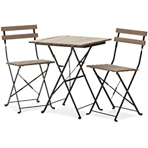 Strathwood Basics Bistro Set, Brown