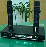Jueshiy Dual Wireless Rechargable Microphone System