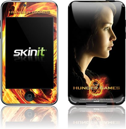 Skinit The Hunger Games -Katniss Everdeen Vinyl Skin for iPod Touch (2nd & 3rd Gen)