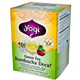 Green Tea Kombucha Decaf, 16 Tea Bags, 1.12 oz (32 g)