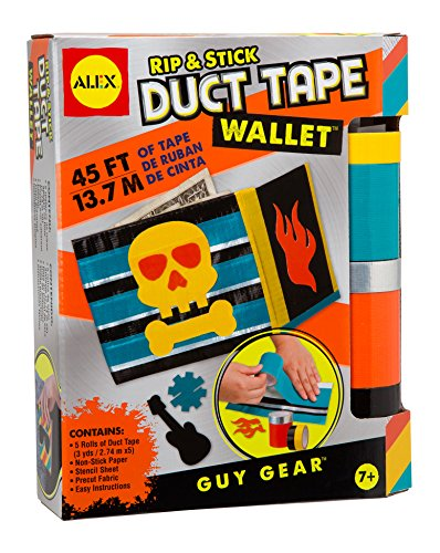 ALEX-Toys-Craft-Guy-Gear-Rip-and-Stick-Duct-Tape-Wallet-Kit-1601