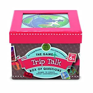 Melissa & Doug Trip Talk Box of Questions
