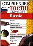 Dictionnaire du menu pour les tourist...