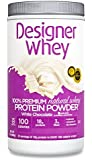 DESIGNER WHEY 100% Premium Whey Protein Powder, White Chocolate, 32 Ounce Container
