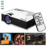 Sourcingbay Wireless WIFI Portable LCD LED Home Theater Cinema Game Projector With VGA/USB/SD/AV/HDMI Miracast...