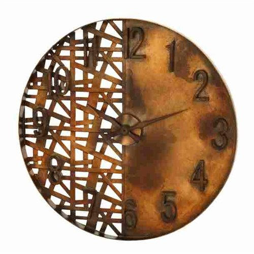 Night And Day Style Wall Clock Art By Benzara front-1064927