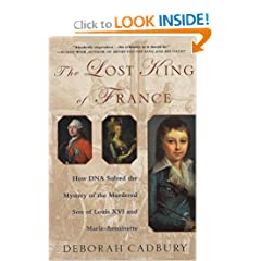 The Lost King of France book cover