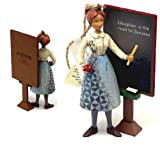 Jim Shore Teacher With Chalkboard Hanging Ornament