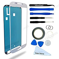 Samsung Galaxy S4 White Display Touchscreen replacement kit 12 pieces MMOBIEL
