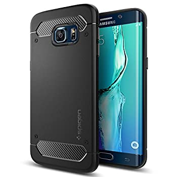 Spigen® [Rugged Armor] Resilient [Black] Ultimate protection and rugged design with matte finish for Galaxy S6 Edge+ (2015)
