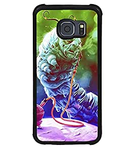 Aart Designer Luxurious Back Covers for Samsung Galaxy S6 + 3D F2 Screen Magnifier + 3D Video Screen Amplifier Eyes Protection Enlarged Expander by Aart Store.